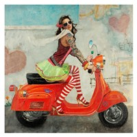 This Is How I Roll Fine Art Print
