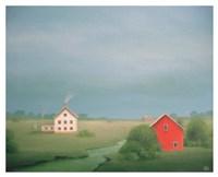 By the Quiet Stream Fine Art Print