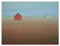 On a Misty Morn Fine Art Print