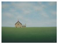 The Old Stone Farmhouse Fine Art Print