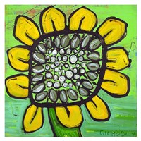 Big Head Bloomer 13 Fine Art Print