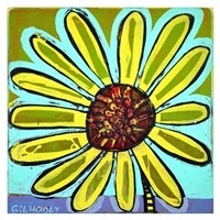 Big Head Bloomer 4 Fine Art Print