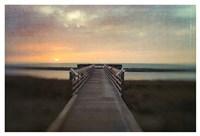Sunset Pier Fine Art Print