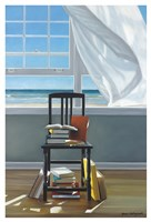 Beach Scholar Fine Art Print