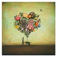 Big Heart Botany Fine Art Print