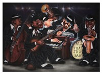 All That Jazz, Baby! Fine Art Print