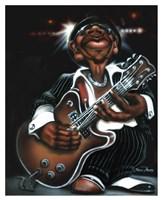 Jazzman Cool Fine Art Print