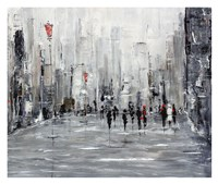 City Scape Fine Art Print
