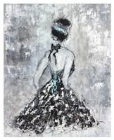 Elegant Booba with Blue Sash Fine Art Print