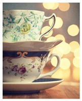 Two Cups Stacked Fine Art Print