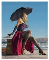 On Crescent Beach Fine Art Print