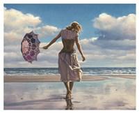Walking on Broken Clouds Fine Art Print