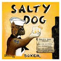 Salty Dog Fine Art Print