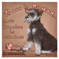 To Forgive Is Canine Fine Art Print