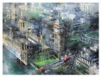 London Green - Big Ben Fine Art Print
