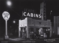 Gas Station, c.1945 Fine Art Print