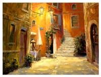 Lighted Alley Fine Art Print