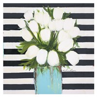 White Tulips Fine Art Print