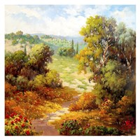 Autumn Path Fine Art Print