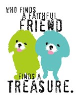 A Faithful Friend Fine Art Print