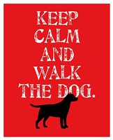 Keep Calm (Labrador) Fine Art Print