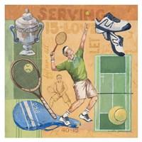 Let's Play Tennis Fine Art Print