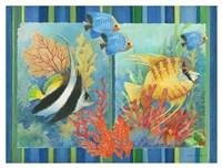 Tropical Fish Goup II Fine Art Print