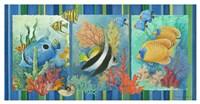 Tropical Fish Strip Fine Art Print