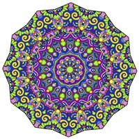 Beautifully Brilliant Mandala Fine Art Print