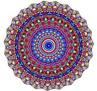 Coral Reef Mandala Fine Art Print