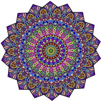 Mystical Mandala Fine Art Print