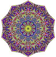 Pretty Pieces Mandala Fine Art Print