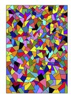 Shards Colored Fine Art Print