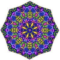 Sublime Sunshine Mandala Fine Art Print