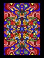 Waves Colored Fine Art Print