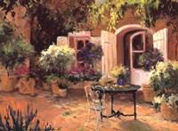 Country Villa Fine Art Print