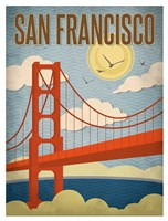 San Francisco - Golden Gate Bridge Fine Art Print