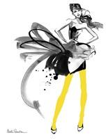 Yellow Tights Fine Art Print