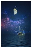 By Way of the Moon and Stars Fine Art Print