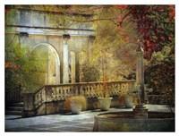 Courtyard Fine Art Print