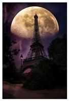 Moonlight in Paris Fine Art Print