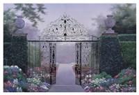 Elegant Garden Fine Art Print