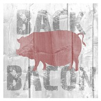Back Bacon Fine Art Print