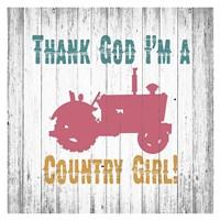 Country Girl Fine Art Print