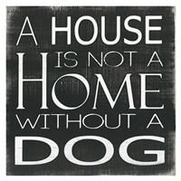 Without a Dog Fine Art Print