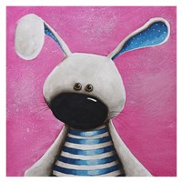 The Blue Bunny Fine Art Print
