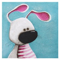 The Pink Bunny Fine Art Print