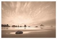 Morning on the Beach Fine Art Print