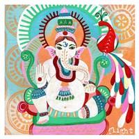 Ganesh of Flight Fine Art Print