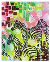 Mind Reading Zebras Fine Art Print